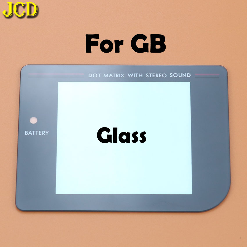Image 5 - JCD 1Pcs New Glass Plastic Screen Lens cover For Nintend Gameboy Classic For GB Lens Protector-in Replacement Parts & Accessories from Consumer Electronics