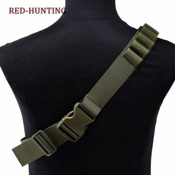 Tactical 26 Rounds Cartridge Shoulder Belt 12 Gauge Ammo Holder Outdoor Military Airsoft Hunting Gun Accessories Shell  Belt 6