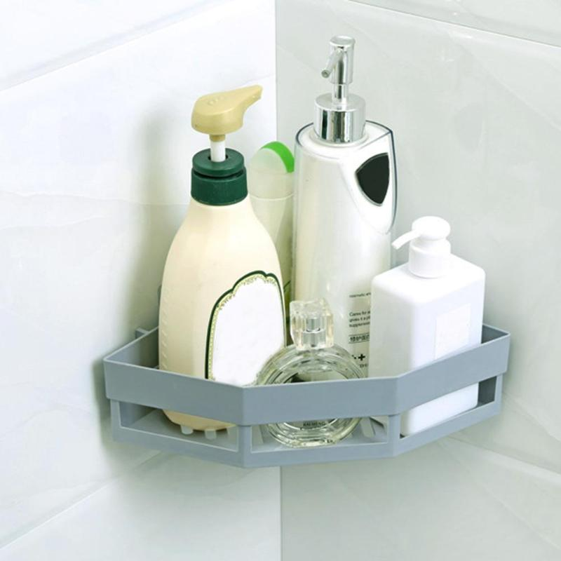 Image 2 - Single Wall Mounted Sink Type Kitchen Storage Holder Bathroom Holder for Kitchen Shelves for Bathroom Wall Shelf Shelving-in Storage Holders & Racks from Home & Garden