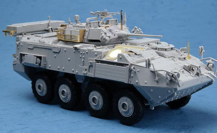 Canadian LAV-III 8*8 Armored Vehicle Kit Trumpeter 1//35 01519 Car Static Model