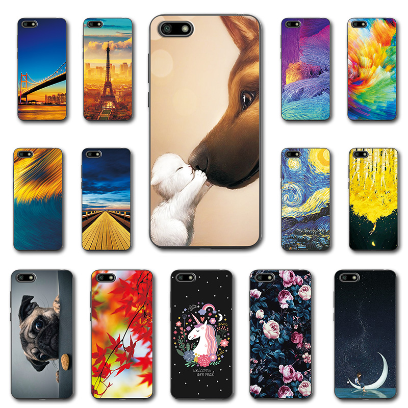 Cellphones & Telecommunications Phone Bags & Cases Novelty Phone Case For Huawei Y5 Lite 2018 Dra-lx5 Dra Lx5 Newest Printed Case Cover For Huawei Y5 Lite 2018 5.45 Fundas Capa Curing Cough And Facilitating Expectoration And Relieving Hoarseness