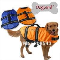 犬の ライフ ジャケット オレンジライフ ベスト対外ハウンドセーバー ペット犬水泳禁猟区xxs xs sml送料無料