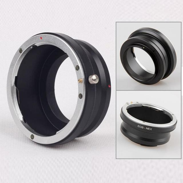 2019 new Lens Adapter Ring for Canon  NEX Camera Adapter Ring for Canon EF Lens To  NEX3 NEX5