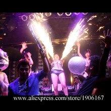 Sexy Lady холодное фейерверк вечерние платье реквизита танец Костюмы певица Для женщин Одежда для представлений DJ DS Костюмы для бальных танцев костюмы