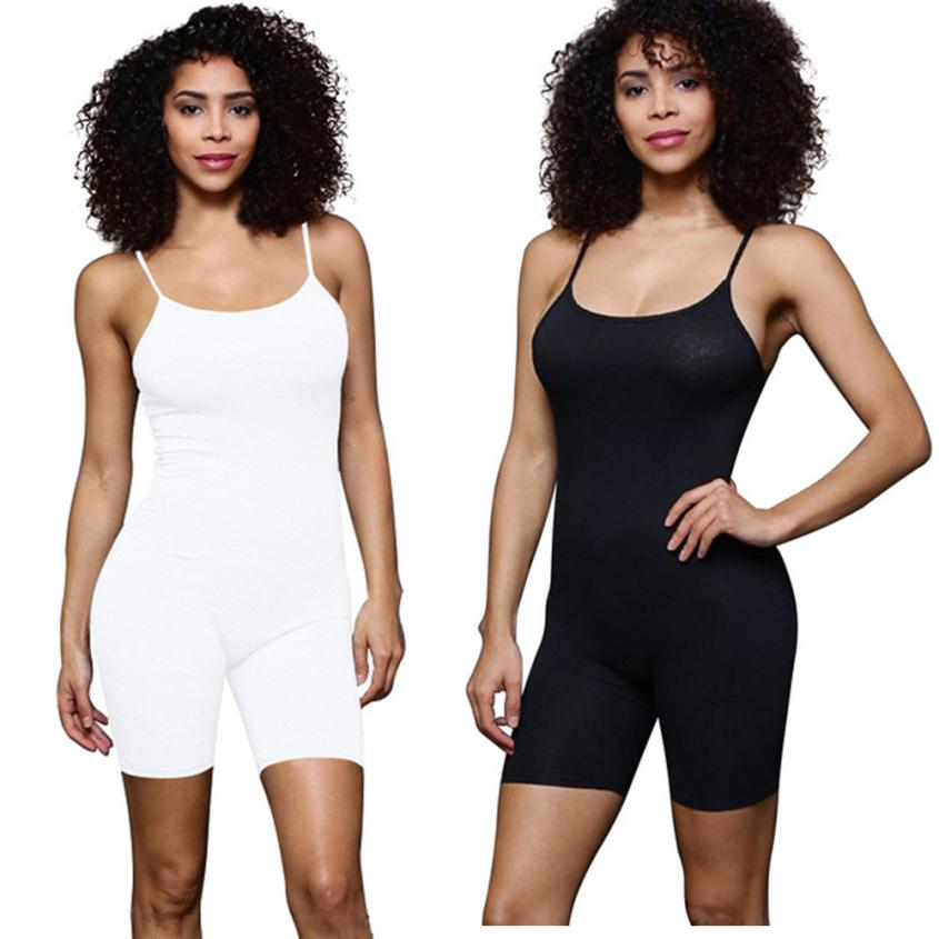KANCOOLD Bodysuit new high quality Ladies Clubwear Playsuit Bodycon Party Jumpsuit Trousers solid Bodysuits women feb6