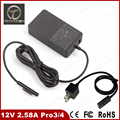 Top quality 36W 12V 2.58A EU US Charger Adapter Power Supply for Microsoft Surface Pro3 Pro 3 4 i5 i7 1625 Tablet 5V 1A USB Port