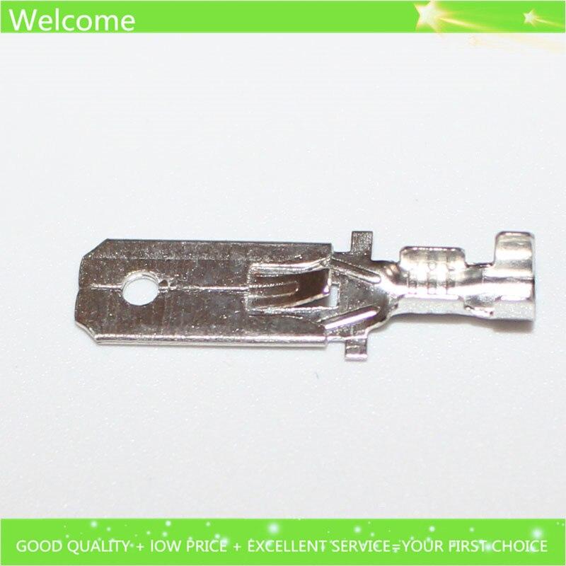 300pcs 6 3mm male crimp terminal connector for car fuse holder etc rh aliexpress com