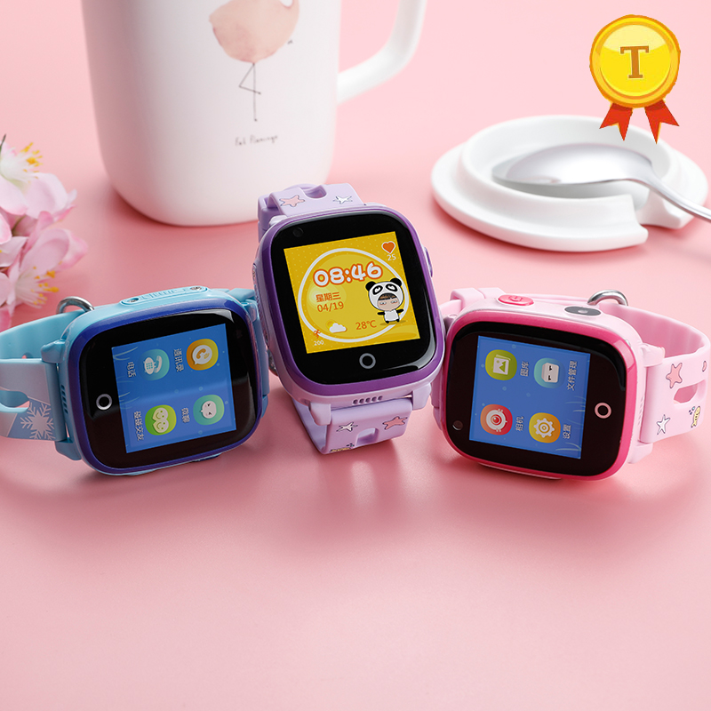 IP67 waterproof swimming child 4G network watch video call phone watch GPS position remote monitoring Android