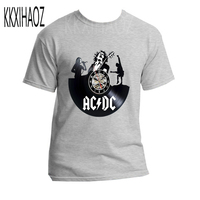 Men/Women cotton AC/DC BELL'S BELLS T shirt ROCK BAND t shirt Summer acdc tshirt Men Short Sleeve Men tops loose t shirts NN