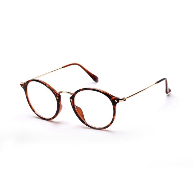 019a2ba049 Women Men Vintage Round Eyewear Frames Retro Fashion Optical Glasses Frame  Metal Frame Eyeglasses Goggle -in Eyewear Frames from Apparel Accessories  on ...