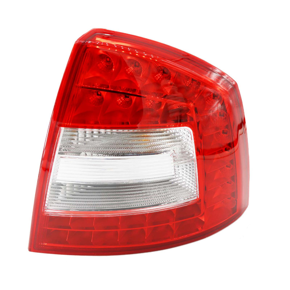 Right Side LED Light For Skoda Octavia A6 RS 2009 2010 2011 2012 2013 Car-styling LED Car Rear Lights Tail Light car light for skoda octavia a5 2004 2005 2006 2007 2008 car styling rear tail light lamp right passenger side lhd