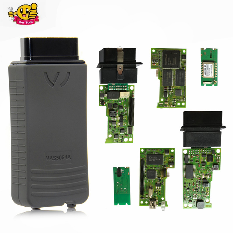 Full Chip OKI AMB2300 VAS 5054A UDS ODIS v4.13 OBD2 Bluetooth Adapter VAS5054A VAS5054 5054 Auto Diagnostic Scanner