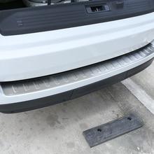Новый Нержавеющаясталь Наружный сзади бампера заглушка для Landrover Range Rover Vogue L405 2013-2018 автомобильный аксессуар
