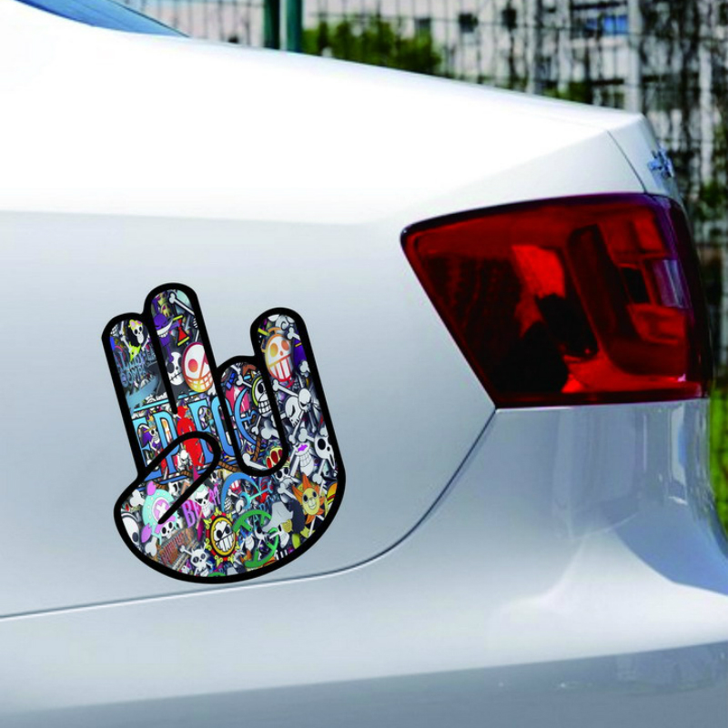 Volkrays Car-styling Accessories Graffiti Palm Fashion Art Stickers Decal Decoration for Volvo Xc90 S60 S80 S40 V50 Xc70 V40
