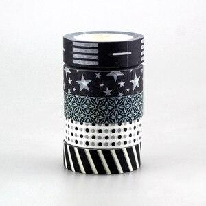 Image 5 - Nouveau 50 pièces Kawaii coloré 596 motifs japonais Washi ruban papier, bricolage ruban de masquage pour Scrapbooking, 15mm * 10 m, mignon papeterie