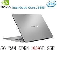 נייד גיימינג ו P2-42 8G RAM 1024G SSD Intel Celeron J3455 NVIDIA GeForce 940M מקלדת מחשב נייד גיימינג ו OS שפה זמינה עבור לבחור (1)