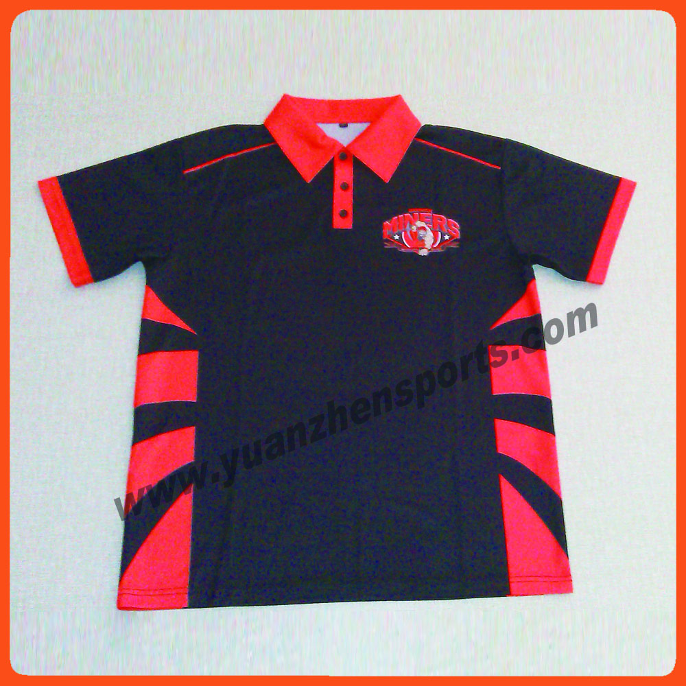 Custom Quick Dry Polo Shirts Joe Maloy