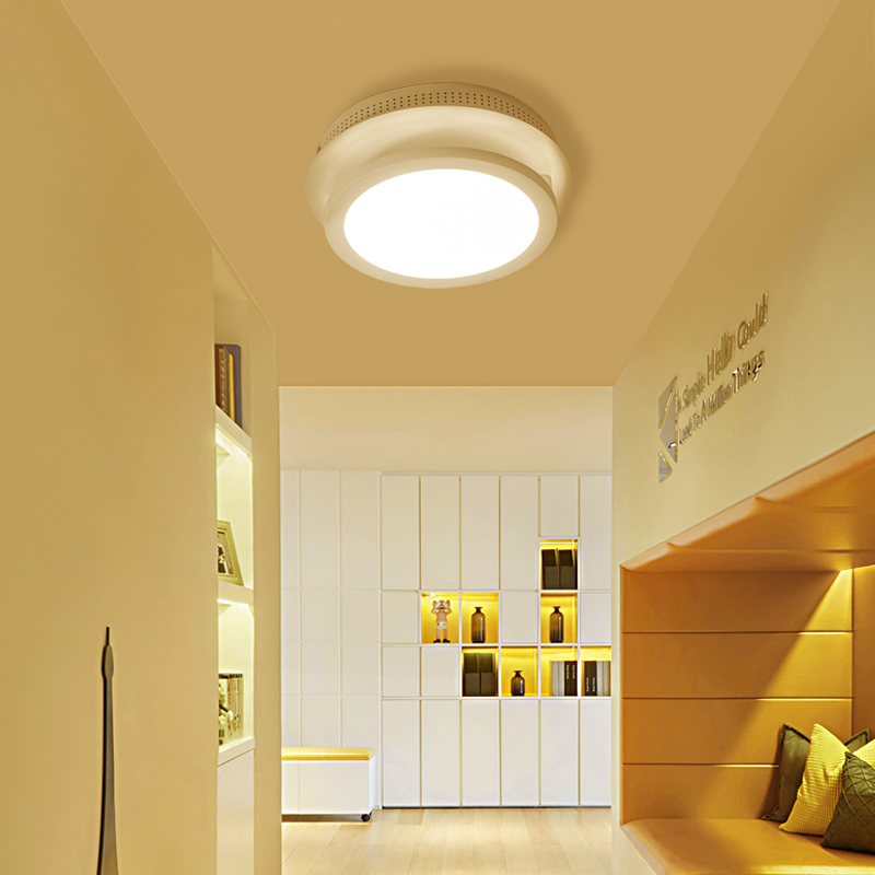цена на led ceiling lights Aisle lights balcony lamp bedroom lamp simple modern led ceiling lamp creative Nordic round square lamp study