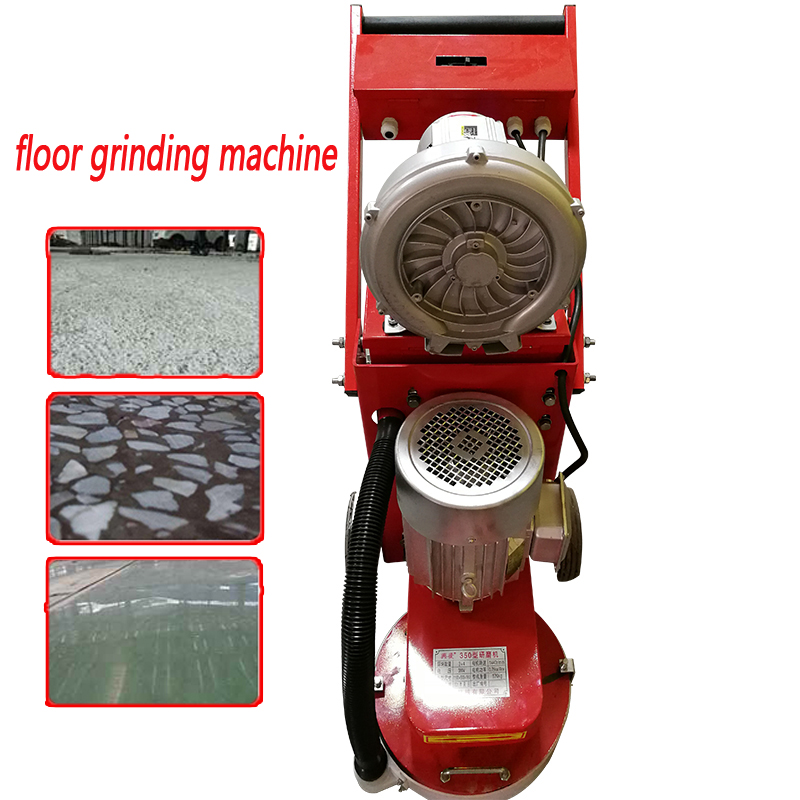 Small Floor Grinding Machine Concrete Floor Grinder Polisher Vacuuming Grinding Machine Adjustable Grinding Depth 380v 220v