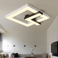 Modern Black white design Ceiling Light Smart home LED Lampshade Modern high quality Ceiling lamp for living room bedroom
