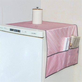 Waterproof Refrigerator Dust Proof Cover Washing Machine Dustproof Cover  Household Cleaning Accessories With Storage Bag