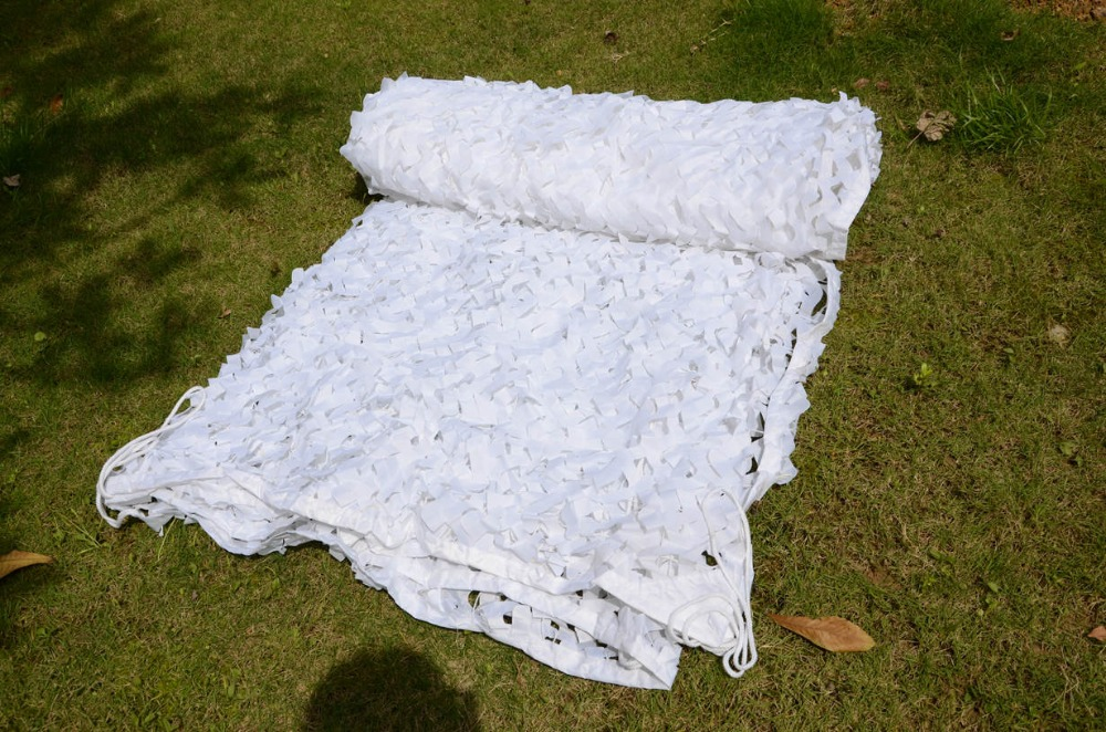 VILEAD 2M x 6M 6 5FT x 19 5FT White Digital Camouflage Net Military Army Camo