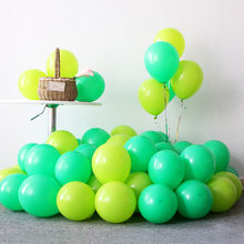 5pcs 12inch 5inch Macaron Latex Balloons Green Blue Balloon Wedding Ballon Marriage Birthday Party Decoration Kids Latex Balloon(China)