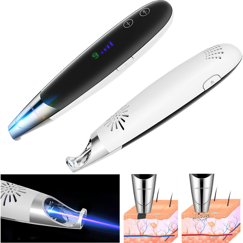 Laser Picosecond Pen Device Blue Light Therapy Skin Care Set Mole Spot Freckle Tattoo Scar Removal
