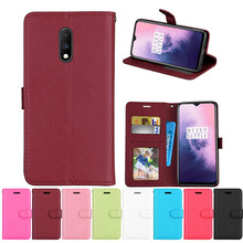 For OnePlus 7 Pro Wallet Phone Case for OnePlus 7 Pro Cases for OnePlus 6T Flip Leather Cover Case Capa Etui Coque Fundas