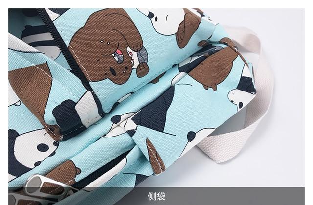 Рюкзак Панда и бурый медведь 5