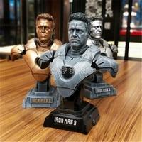 3 цвета 1/4 Смола Бюст Мстители 3 Роберт Дауни Младший Железный человек модель Коллекция статуя Железный человек MK7 фигурку