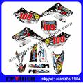 FREE SHIPPING RMZ250 2004 2005 2006 ROCKSTAR 3M TEAM GRAPHICS BACKGROUND DECALS STICKERS KITS MOTOCROSS ENDURO SUPERMOTARD