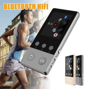 Image 1 - 2019 חדש HIFI Bluetooth MP3 נגן 8GB מוסיקת Lossless באיכות גבוהה Lossless מקליט FM Bluetooth 4.0 מתכת MP3 נגן