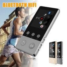 Reproductor de música HIFI Bluetooth 2019, reproductor de música sin pérdidas 8GB, grabadora sin pérdidas de alta calidad, FM, Bluetooth 4,0, reproductor de MP3 de Metal