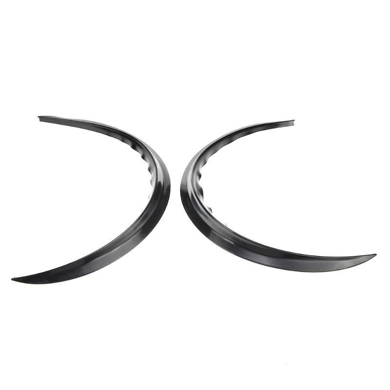 Image 5 - VODOOL 2Pcs Car Fender Flares Arch Wheel Eyebrow Protector/mudguard Sticker Extension Wide Arch Protector Stripe Car Styling-in Mudguards from Automobiles & Motorcycles