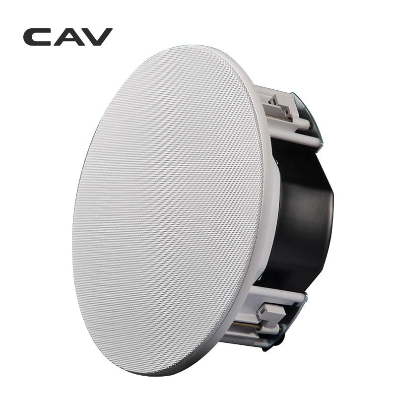 CAV HT-90 w głośnik sufitowy dwóch sposób 8 cal kina domowego głośniki muzyczne użytku domowego tło nagłośnienie głośnik sufitowy s z tworzywa sztucznego