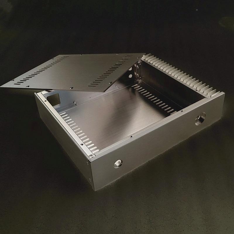 Breeze Audio power amplifier aluminum chassis AMP case BZ3207S box breeze audio hifi cnc power amplifier aluminum chassis bz3608b