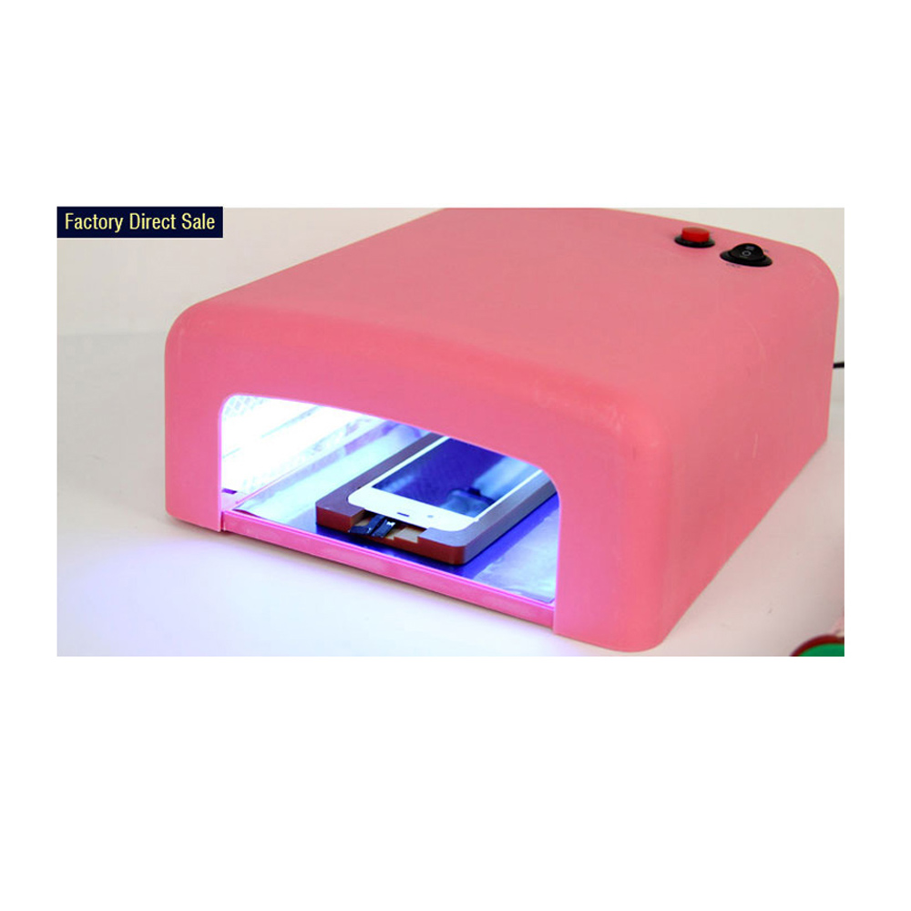 40W UV GEL Curing Lights UV Glue Dryer LED Light For Repairing Cell Phone Screen UV Lamp/light 110v 220v top grade uv curing lights shadowless glue curing lights uv glue curing lights led for phone scree uv glue dry