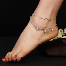 Infinity perles breloque accessoires