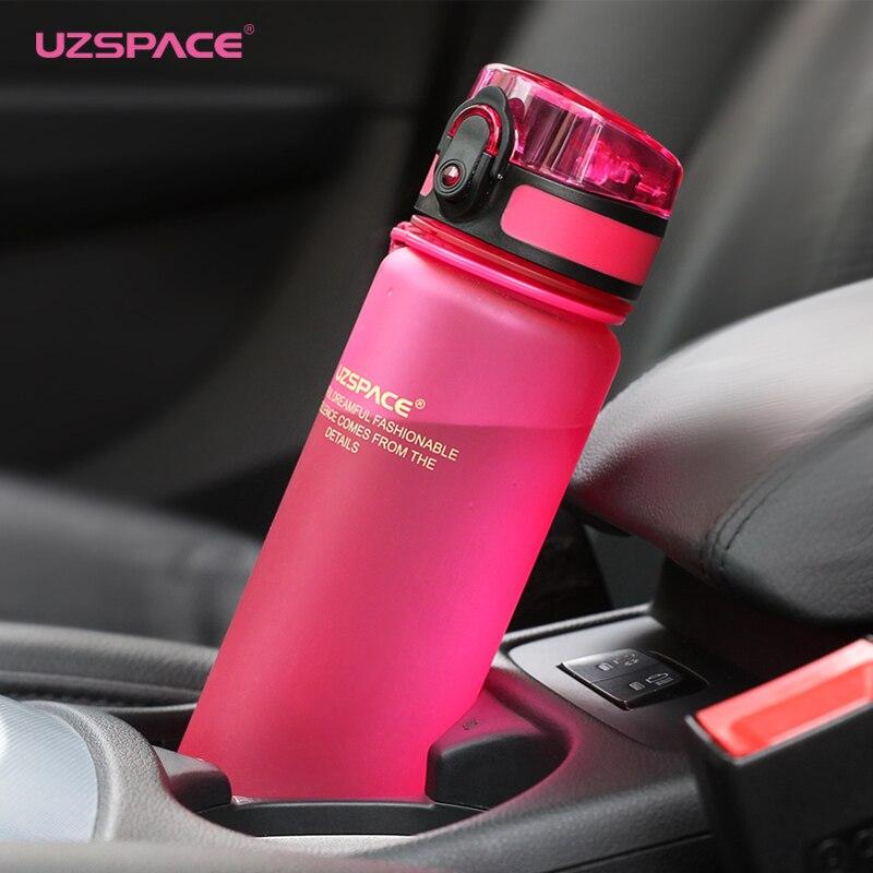 Kuća i bašta ... Kuhinja i trpezarija ... 32715465459 ... 4 ... UZSPACE Sport Water Bottle Protein Shaker Camping Hiking Drink Bottle for water 350/500/1000ml Tritan Plastic Drinkware BPA Free ...