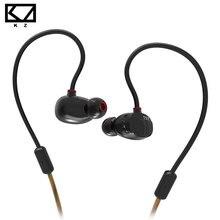 KZ ZS1 Auriculares dinámicos dobles intrauditivos de alta fidelidad estéreo para conductores, con sistema de cancelación de ruidos y micrófono para iPhone