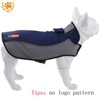 Blackky Doggy Autumn Winter Cozy And Warm Dog Outdoor Coat Waterproof Dog Outdoor Jacket Plus Size