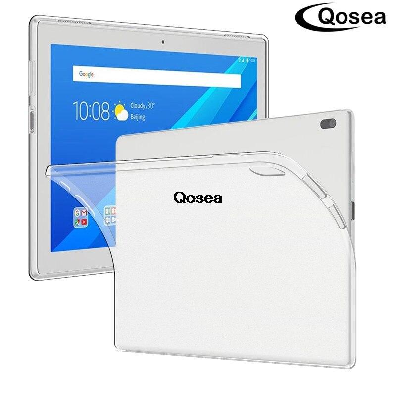 Pour Lenovo Tab 4 10 TB-X304F Tab4 TB-X304N Protection Cas Transparent Silicone Tablet PC Protection Tpu Retour Capa Cover