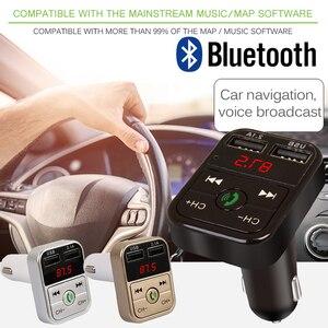 Image 3 - Smart Universal Bluetooth Audio Receiver Wireless Bluetooth Receive Auto FM LED Digital Display Handsfree Car Accessories