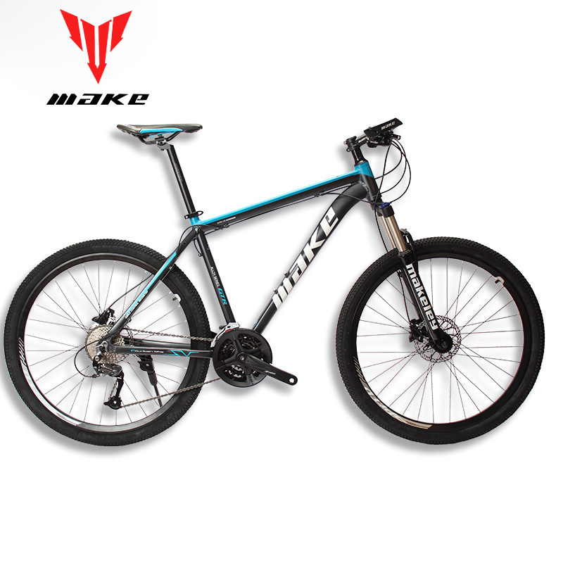 "MAKE Mountain Bike Aluminum Frame SHIMAN0 AItus 27 Speed 26 27 5 29 Wheel Hydraulic Mechanical MAKE Mountain Bike Aluminum Frame SHIMAN0 AItus 27 Speed 26"" 27,5""29  Wheel Hydraulic/Mechanical Brake"