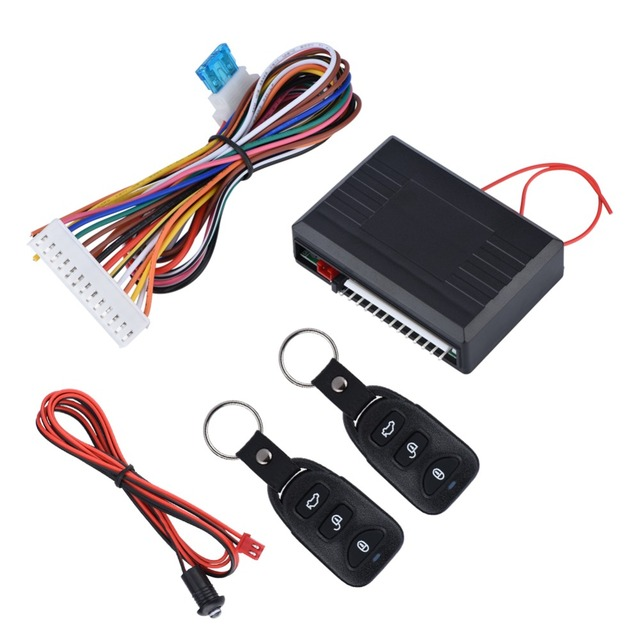 Best Price Universal Car Auto Security Alarm Remote Keyless Entry System