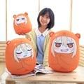 2015 New Sankaku Head Himouto Umaru Chan Umaru Doma Cosplay MARMOT Short Velvet Puppets And Humanoid Doll Free Shipping 32*30cm