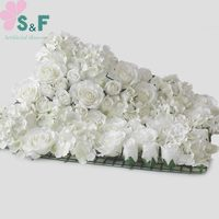 2PCS/Lot Free Shipping Artificial flower Wall Wedding Backdrop Arrangement Stage Decoration Floral 8Color Can Be Customized