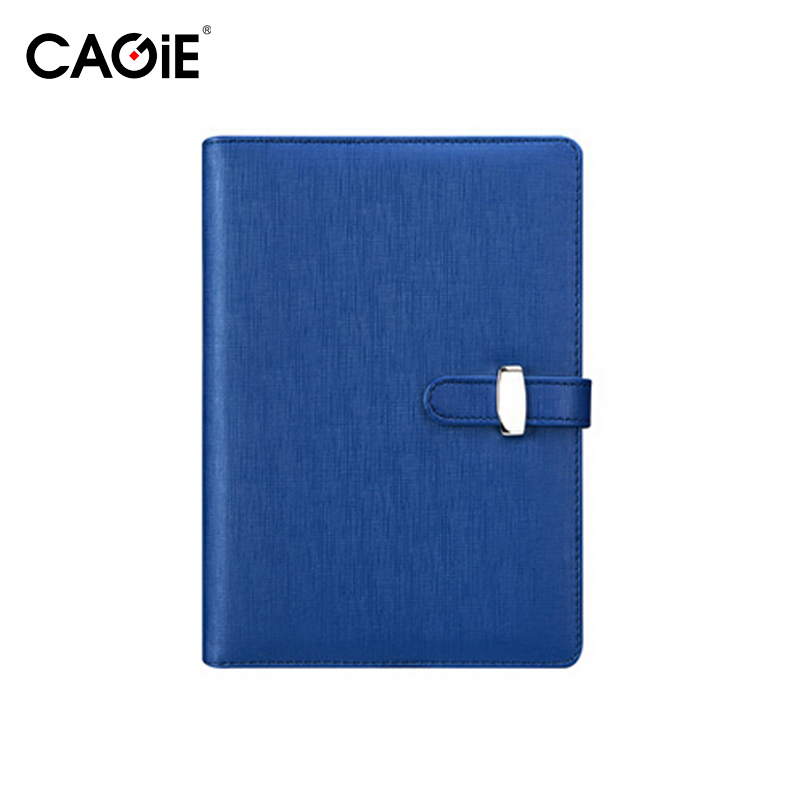CAGIE Vintage Leather Notebook a6 Journal Diary Spiral Notebook Cover No Paper Filofax Organizer Ring Binder Daily Planner kitdef390204unv20962 value kit deflect o three tier document organizer def390204 and universal round ring economy vinyl view binder unv20962