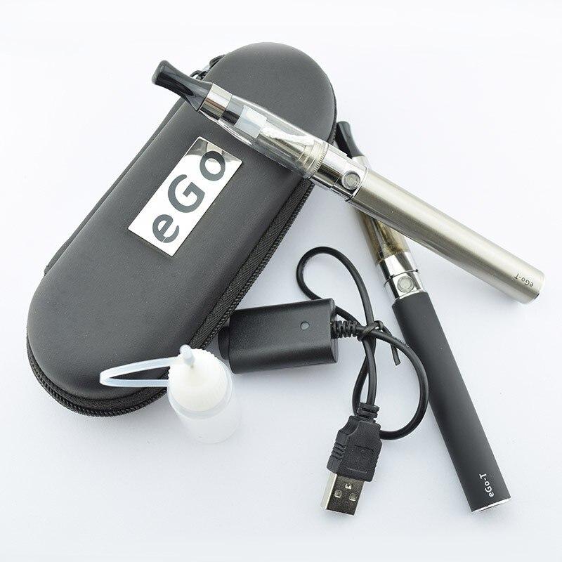5 pcs/lot sous deux E Cigarette EGo Ce4 Kit de démarrage avec 1.6 Ml réservoir Ego batterie fermeture à glissière étui Ego Ce4 Vape Kit Kit de vaporisateur - 4